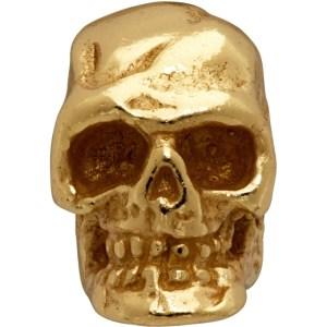 Emanuele Bicocchi Gold Tiny Skull Single Earring