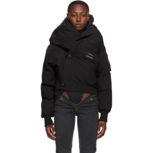 Y/Project Black Canada Goose Edition Down Chiliwack Bomber