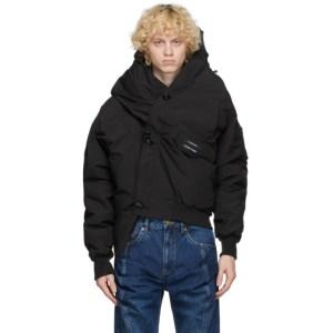 Y/Project Black Canada Goose Edition Down Chilliwack Jacket