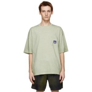 Saturdays NYC Green Washed Peace T-Shirt
