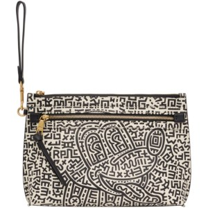 Coach 1941 Black and White Keith Haring Edition Mickey Pouch