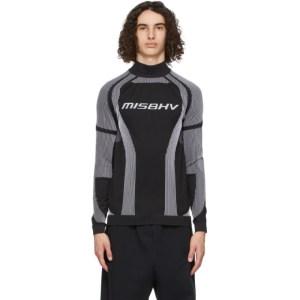 MISBHV Black Active Sport Turtleneck