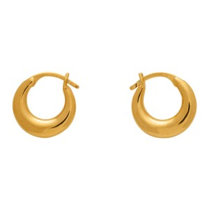 Sophie Buhai Gold Tiny Essential Hoop Earrings