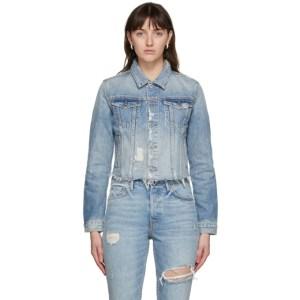 Grlfrnd Blue Denim Cara Jacket