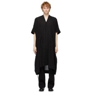 Jan-Jan Van Essche Black Tunic 28 Shirt