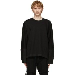Jan-Jan Van Essche Black Loose Fit Sweatshirt