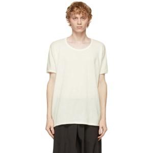 Jan-Jan Van Essche Off-White Regular Fit 66 T-Shirt