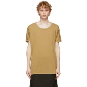 Jan-Jan Van Essche Khaki Regular Fit 66 T-Shirt