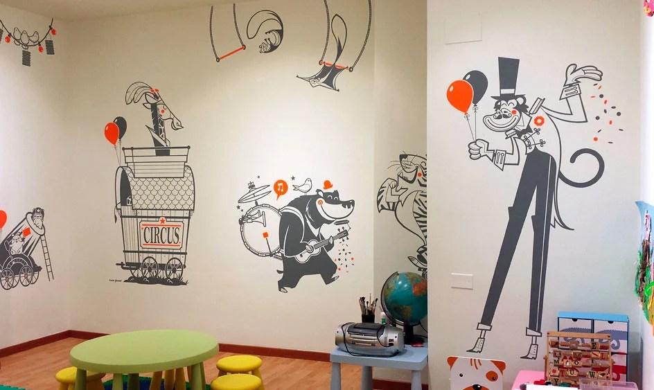 Ad esempio in una stanza dal design tradizionale o classico, dove regnano. Adesivi Murali Una Idea Originale Per Decorare Le Tue Pareti