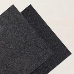 BLACK GLITTER PAPER #153518