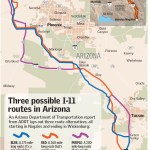 Arizona Officials Study 3 Possible Routes For Future I 11 Las Vegas Review Journal
