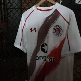 weisses st pauli trikot under armour