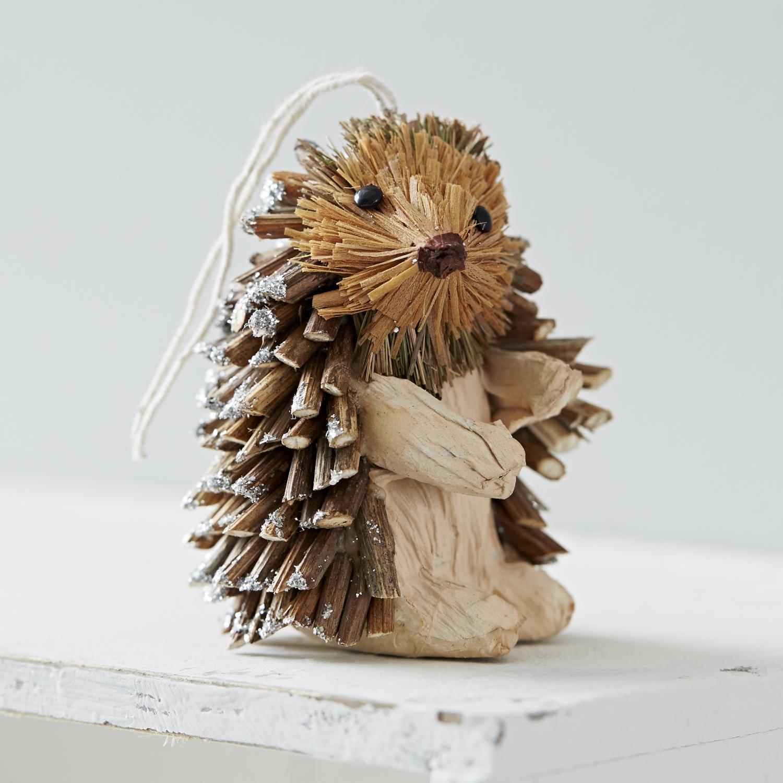 Trouva Hanging Hedgehog Decoration