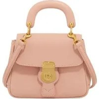 Image result for Burberry Trench Small Leather Top Handle Bag, Light Pink