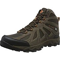 columbia mens peakfreak xcrsn ii mid leather outdry hiking boot cordovan bright copper