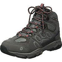 jack wolfskin womens mtn attack texapore mid w high rise hiking boots