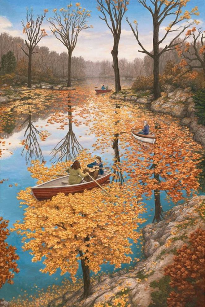 Master of Illusion - The Art of Rob Gonsalves - Digital Art Mix