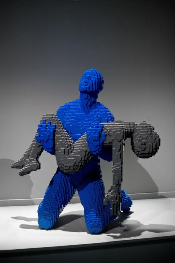 Lego Sculptures Of Brick Artist Nathan Sawaya - Joyenergizer