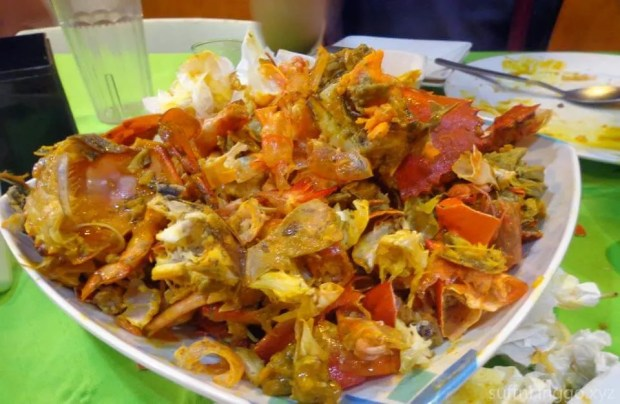 2016 05 crab buffet aftermath