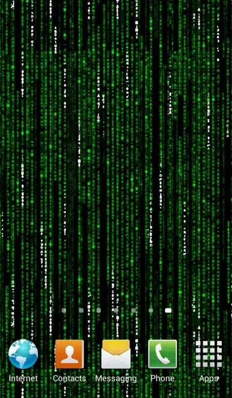 Matrix Falling Code Live Wallpaper Papel De Parede Que Se Mexe Na Tela Animado No Android