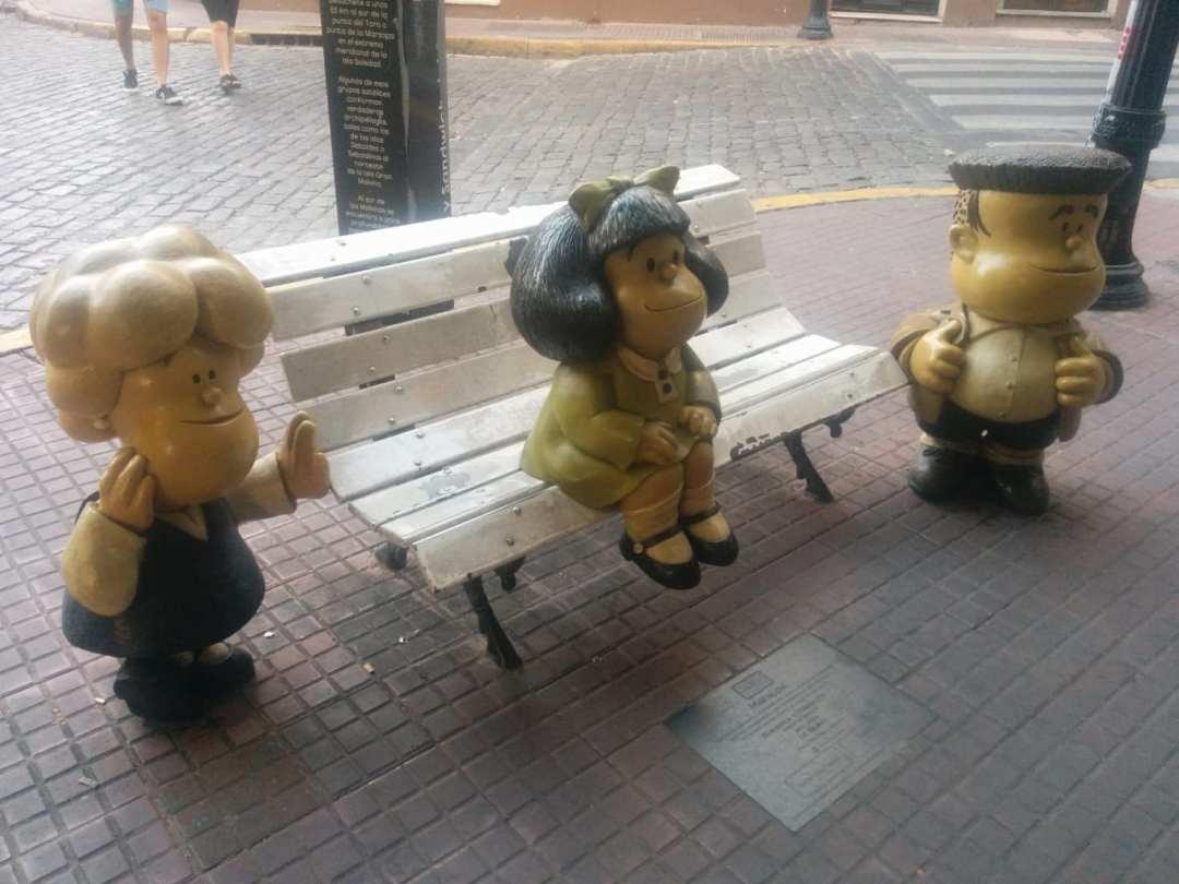 Mafalda, Susanita y Manolito