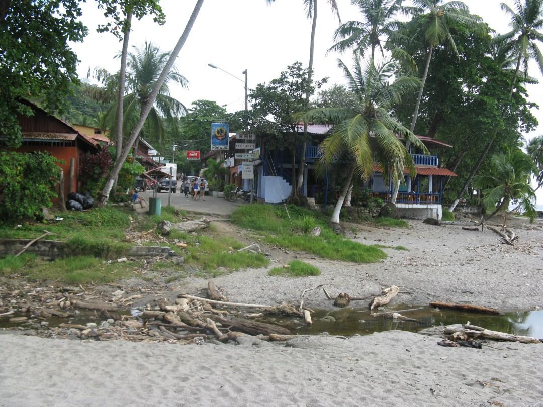 Montezuma from the beach