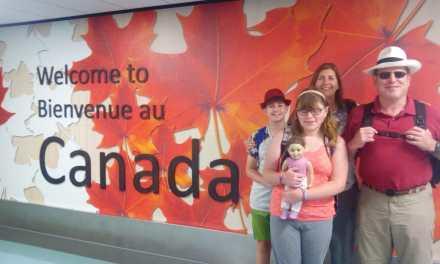 June 16 onward, back in Canada!