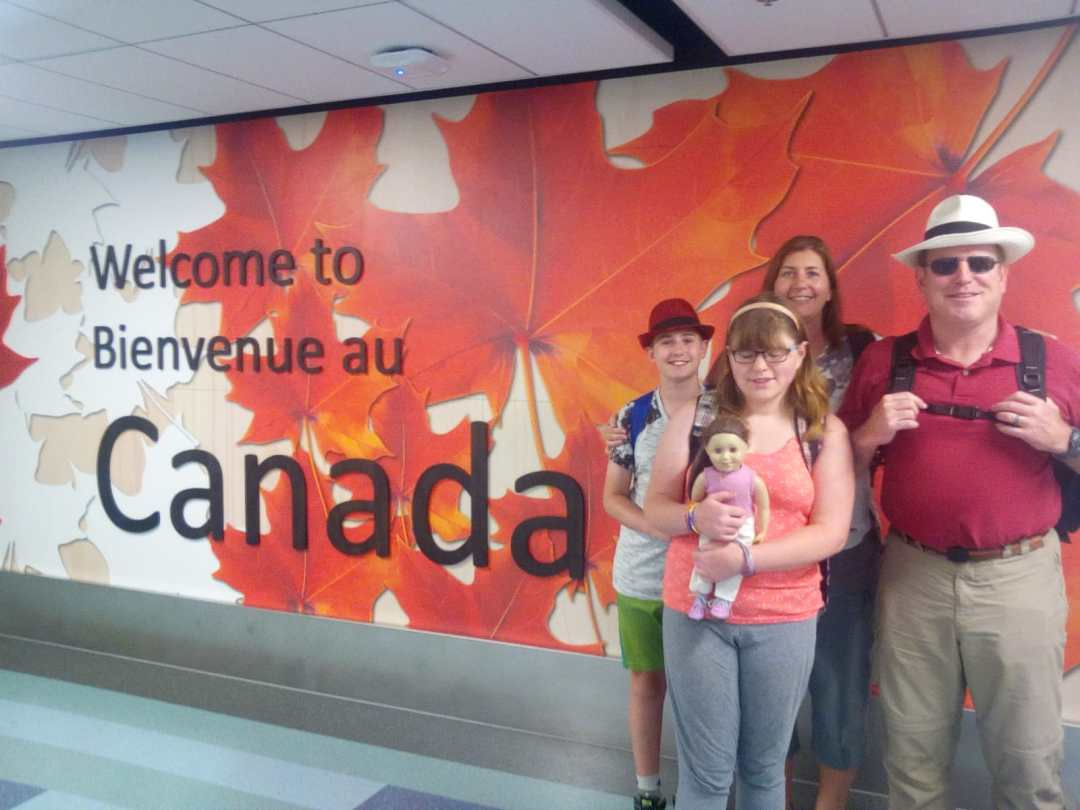 June 16 onward, back in Canada!
