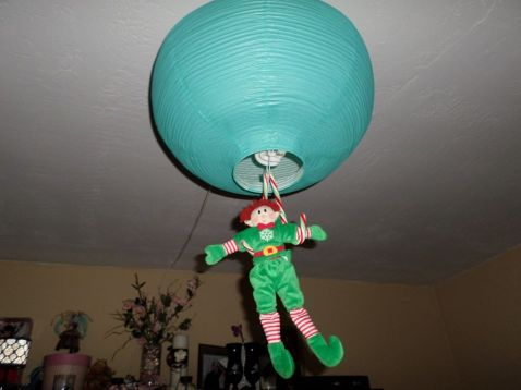Is that a lantern or a balloon?