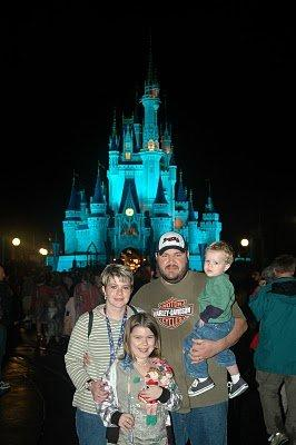 Their first trip to Disney World!