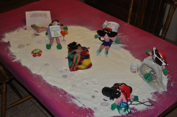 These elves setup created their own beach