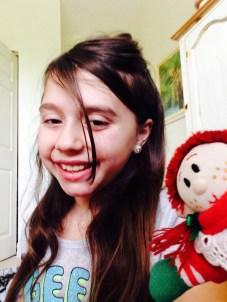 Darling elf selfie