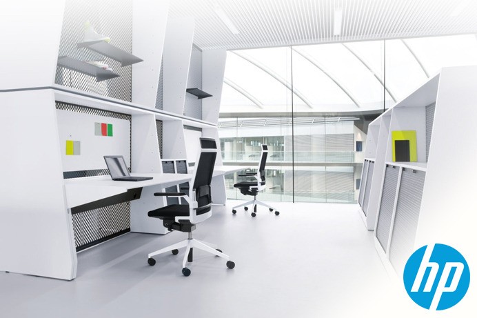 Design the Ultimate Office Space for HP and Microsoft
