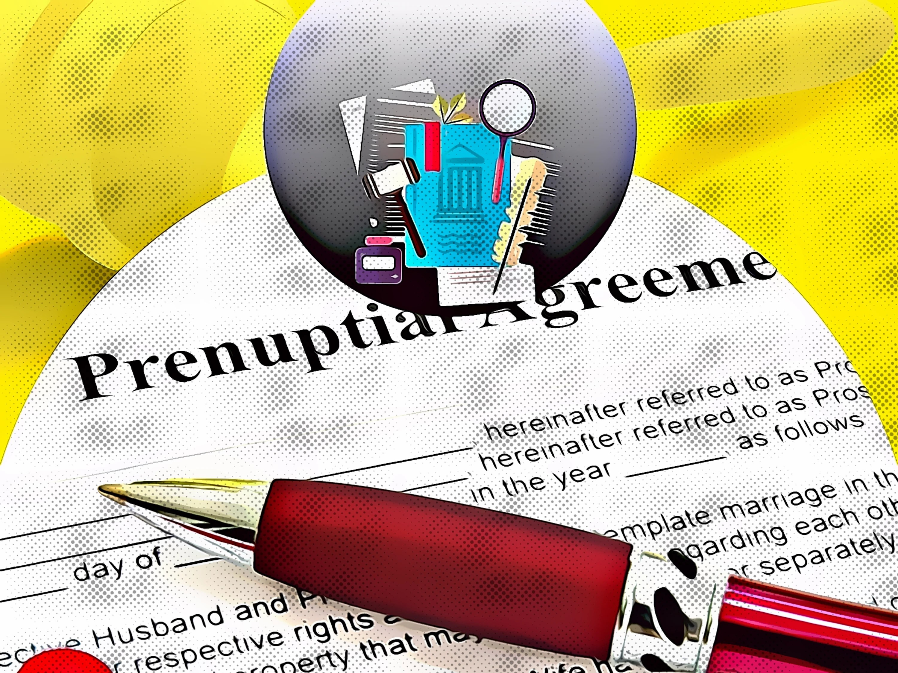 From the legal perspective on prenuptial agreement