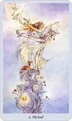 Lo Scarabeo Tarot Fool representing the Major Arcana