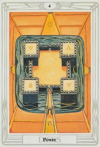 thoth-tarot-disks-four
