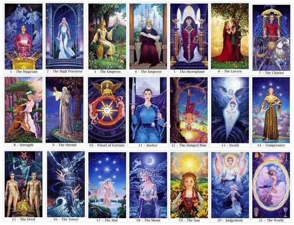journey throuh the major arcana with the sacred isle tarot