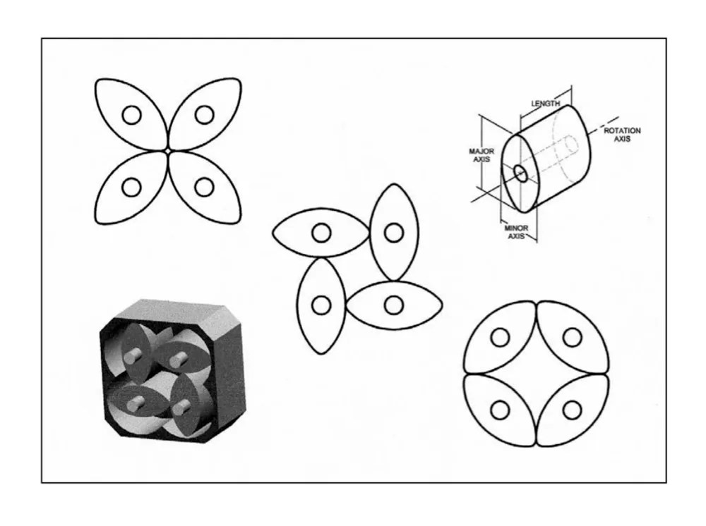 Planetary Rotor Engine for Military Drones