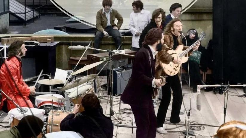 Concierto en la azotea de The Beatles (edificio Apple)