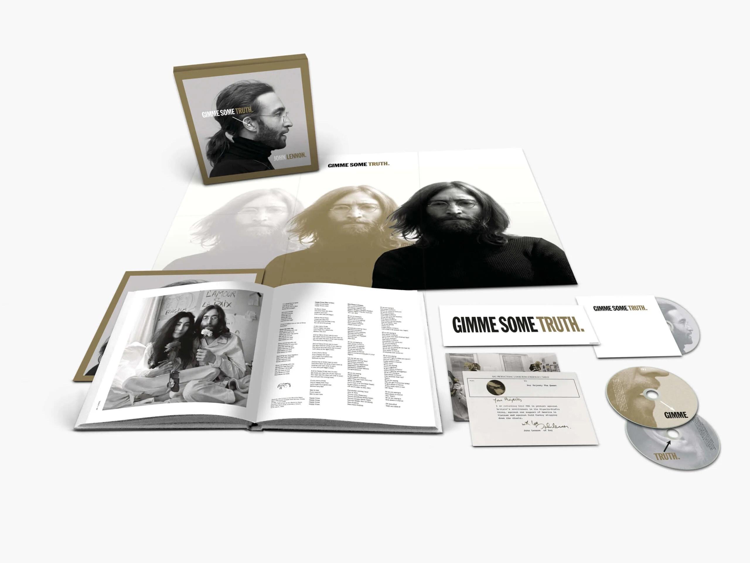 ¿Que contiene el nuevo BOX Gimme Some Truth ultimate remix? LENNON80