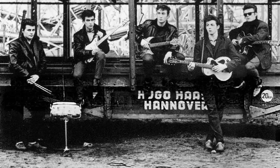 Los Beatles llegan por primera vez a Hamburgo