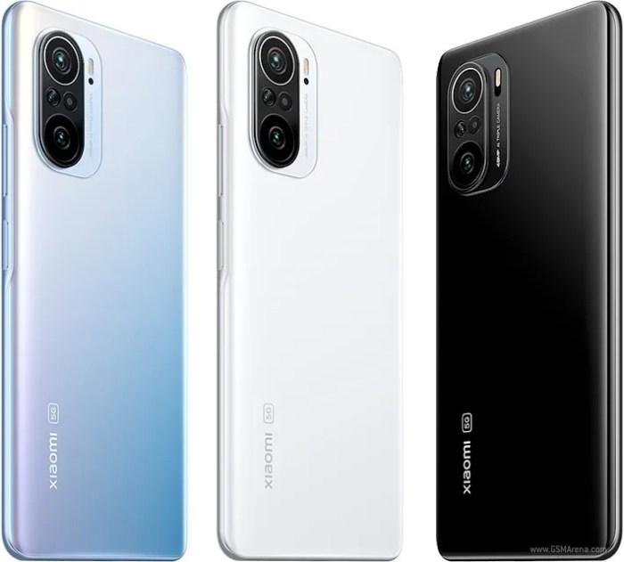 Xiaomi Mi 11X colours