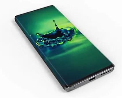 Motorola Edge Plus design