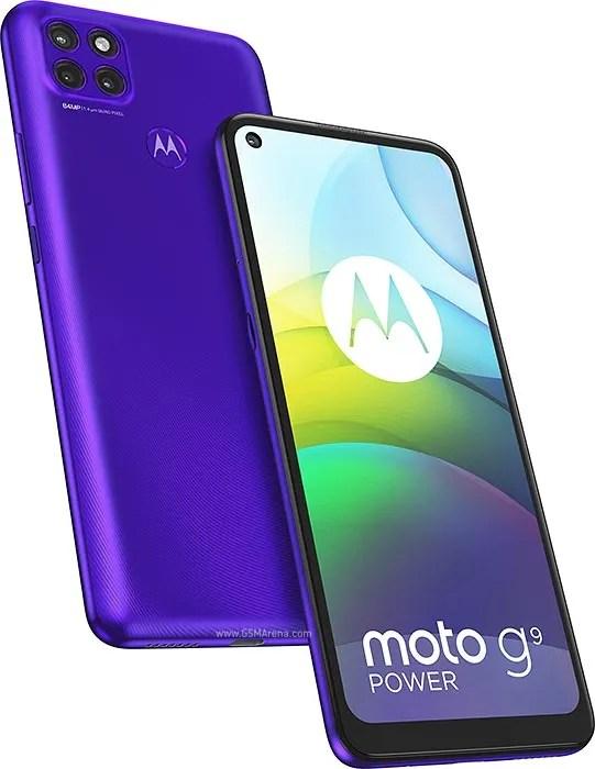 Moto G9 Power colour