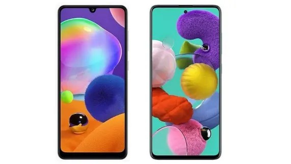 Samsung Galaxy A31 and A51