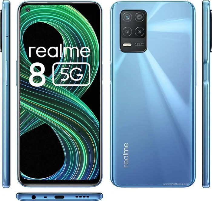 Realme 8 5G design
