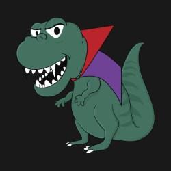 halloween dinosaur cute shirt teepublic pop male female