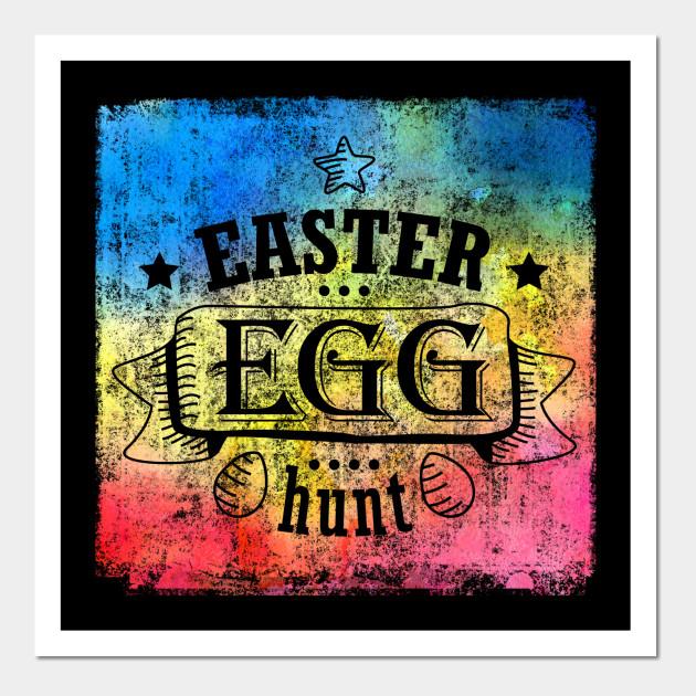 easter egg hunt color