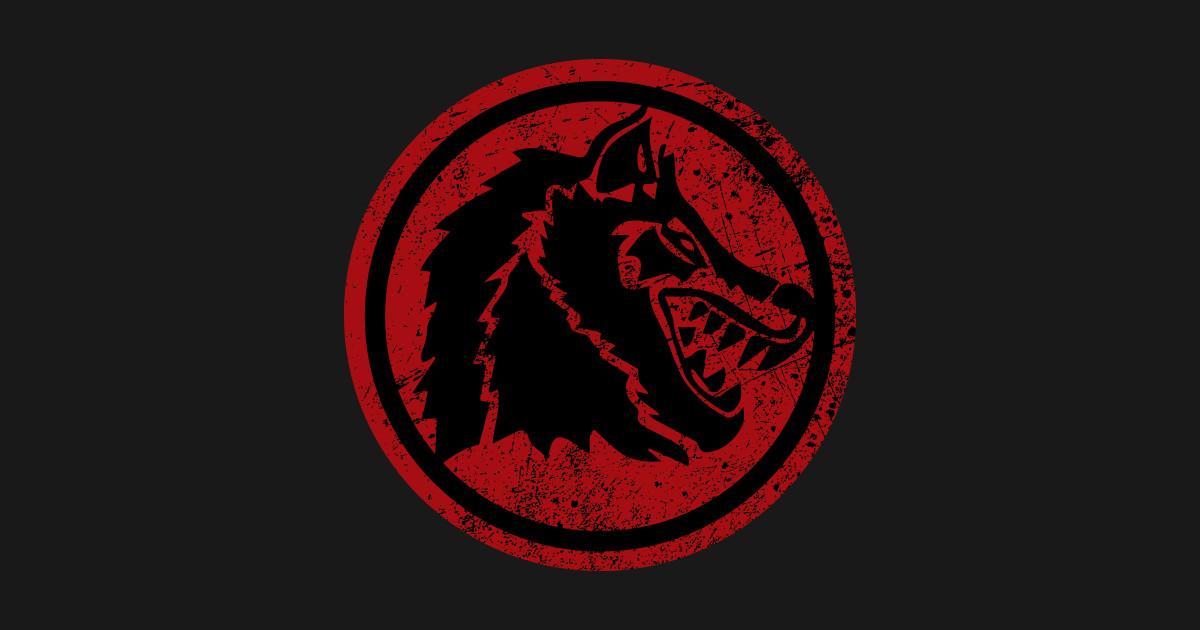 WolfBlood Logo distressed  Wolf Blood Logo Distress  TShirt  TeePublic