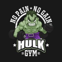 Hulk Gym - Hulk - Hoodie | TeePublic